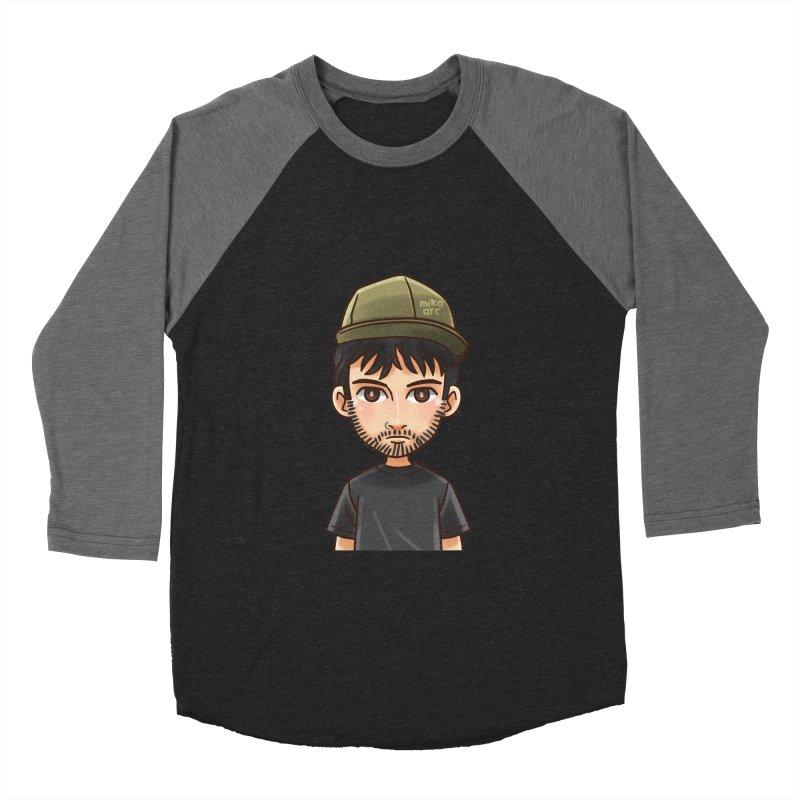 Hipster Men's Baseball Triblend T-Shirt by 1111cr3w's Artist Shop