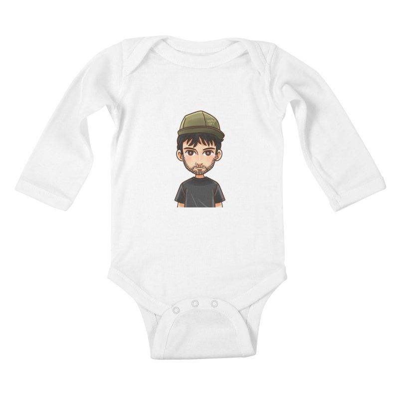 Hipster Kids Baby Longsleeve Bodysuit by 1111cr3w's Artist Shop