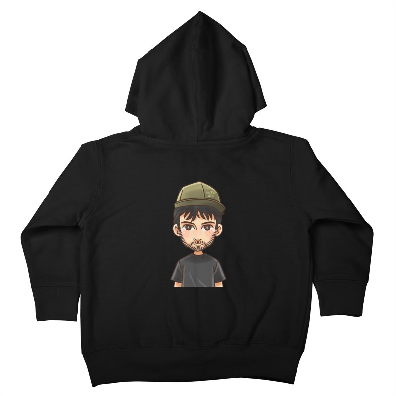 Hipster Kids Toddler Zip-Up Hoody by 1111cr3w's Artist Shop