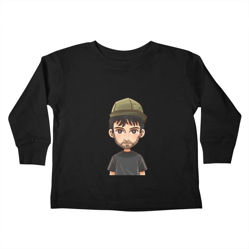 Hipster Kids Toddler Longsleeve T-Shirt by 1111cr3w's Artist Shop