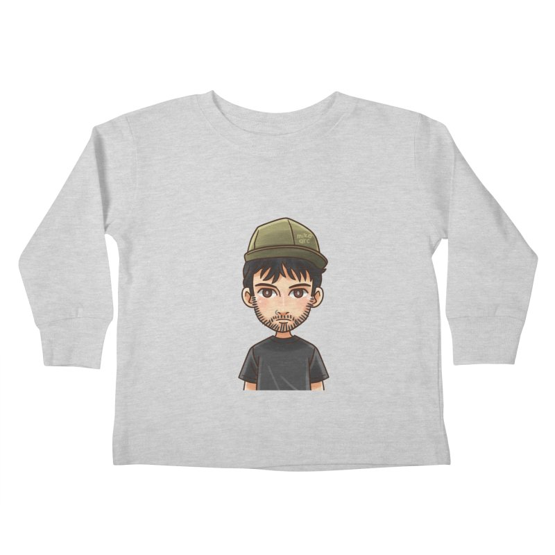 Hipster Kids Toddler Longsleeve T-Shirt by 1111cr3w's Artist Shop