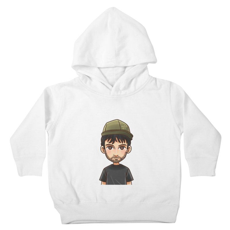 Hipster Kids Toddler Pullover Hoody by 1111cr3w's Artist Shop
