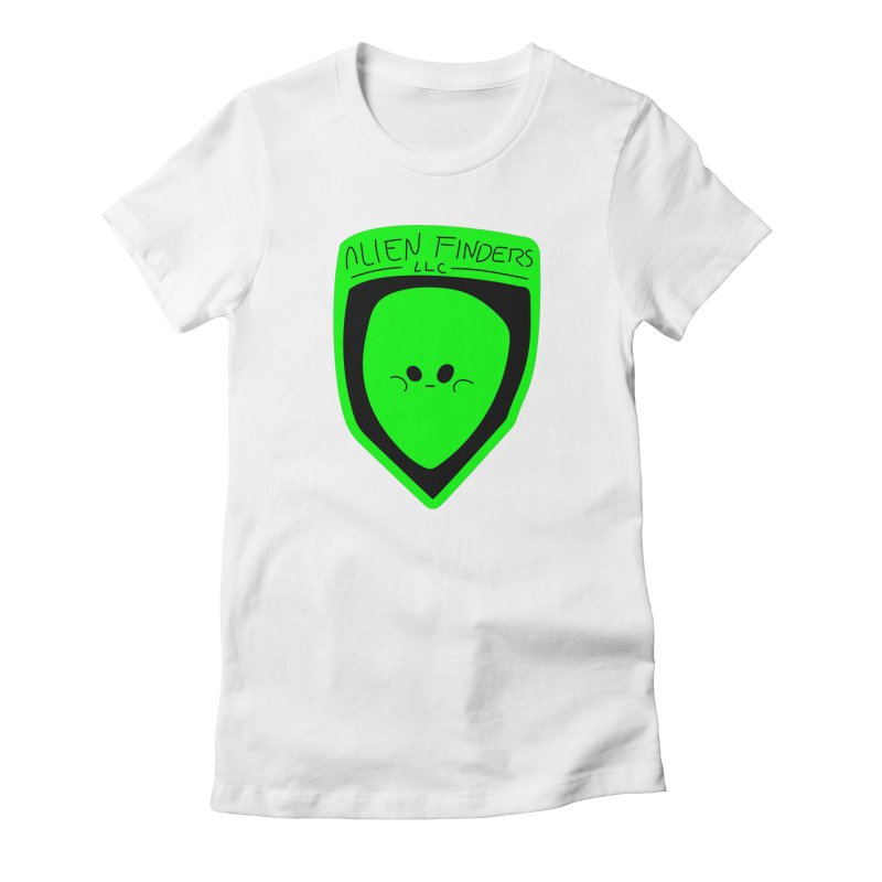 ALIEN FINDERS LLC Women's Fitted T-Shirt by 11th Planet LLC