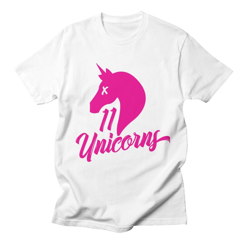 11 Unicorns Pink Logo Women's T-Shirt by 11 Unicorns Shop