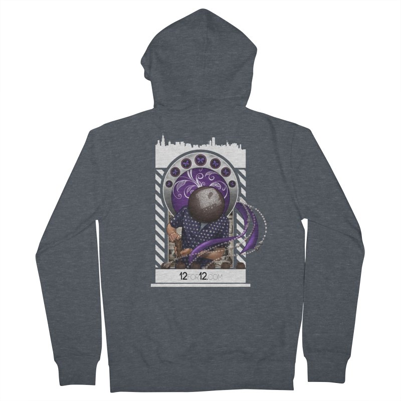 Episode 10 Women's French Terry Zip-Up Hoody by 12for12's Artist Shop