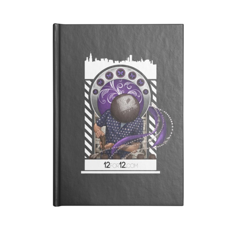 Episode 10 Accessories Lined Journal Notebook by 12for12's Artist Shop