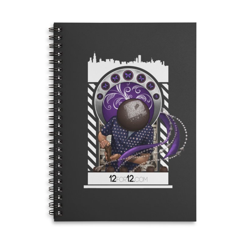 Episode 10 Accessories Lined Spiral Notebook by 12for12's Artist Shop