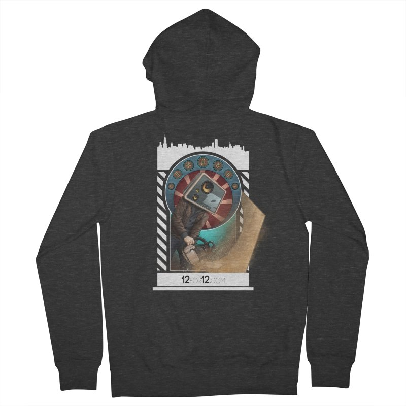 Episode 2 Women's French Terry Zip-Up Hoody by 12for12's Artist Shop