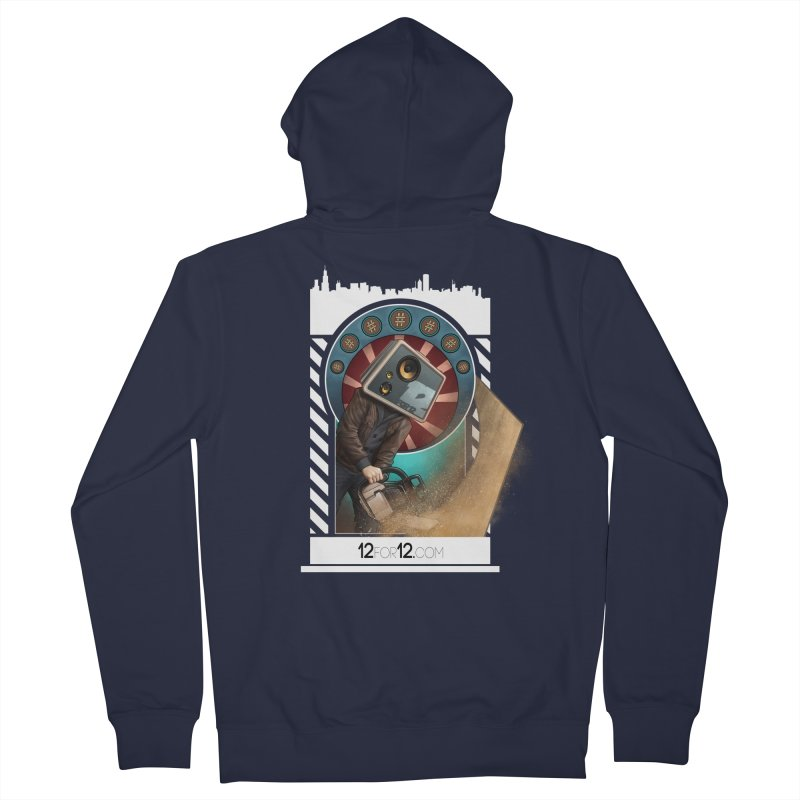 Episode 2 Men's French Terry Zip-Up Hoody by 12for12's Artist Shop