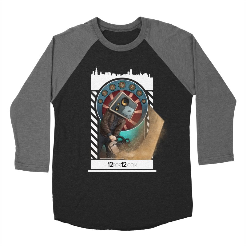 Episode 2 Men's Baseball Triblend Longsleeve T-Shirt by 12for12's Artist Shop