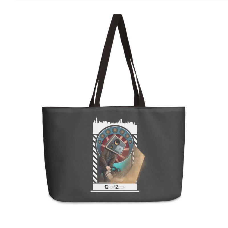 Episode 2 Accessories Weekender Bag Bag by 12for12's Artist Shop