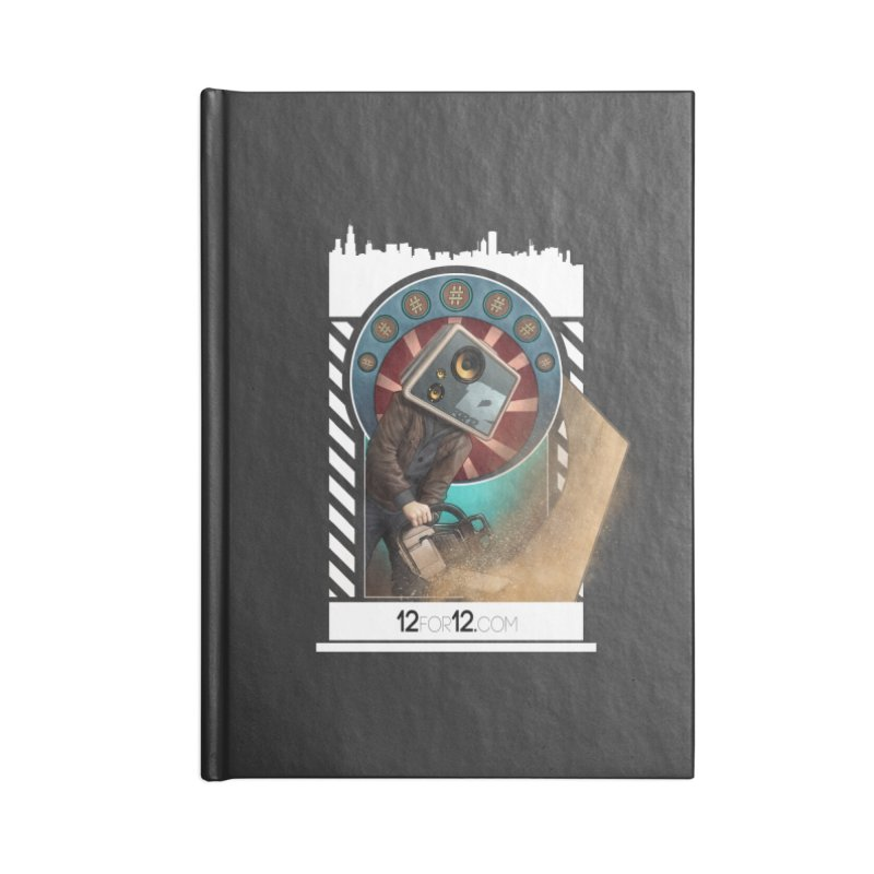 Episode 2 Accessories Lined Journal Notebook by 12for12's Artist Shop