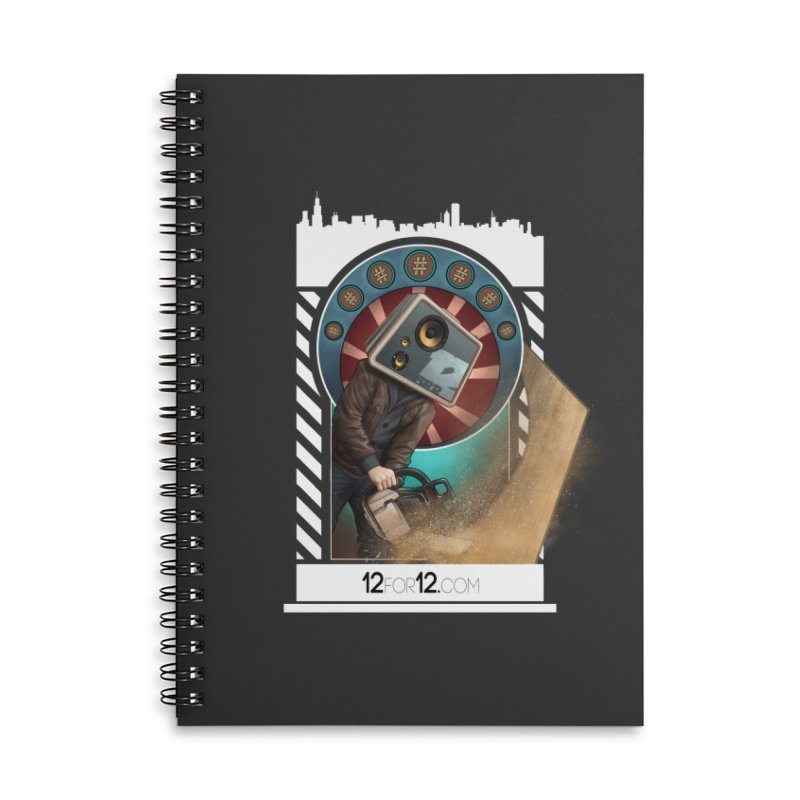 Episode 2 Accessories Lined Spiral Notebook by 12for12's Artist Shop