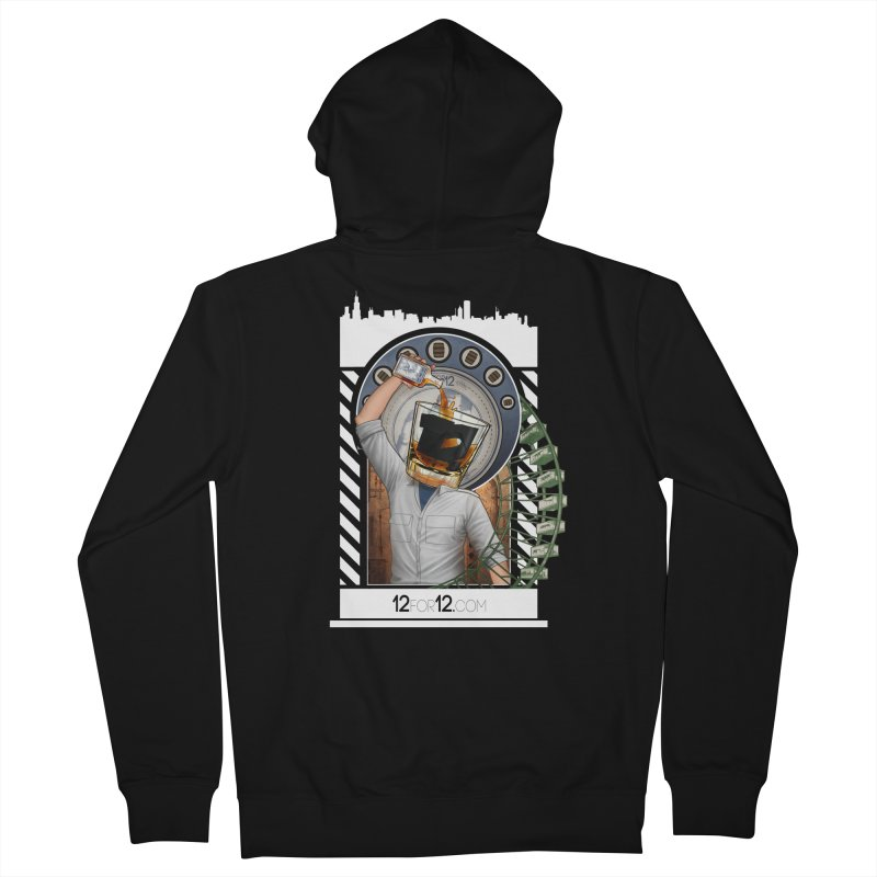 Episode 1 Women's French Terry Zip-Up Hoody by 12for12's Artist Shop
