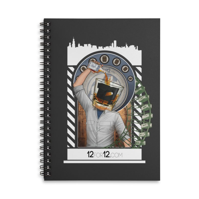 Episode 1 Accessories Lined Spiral Notebook by 12for12's Artist Shop