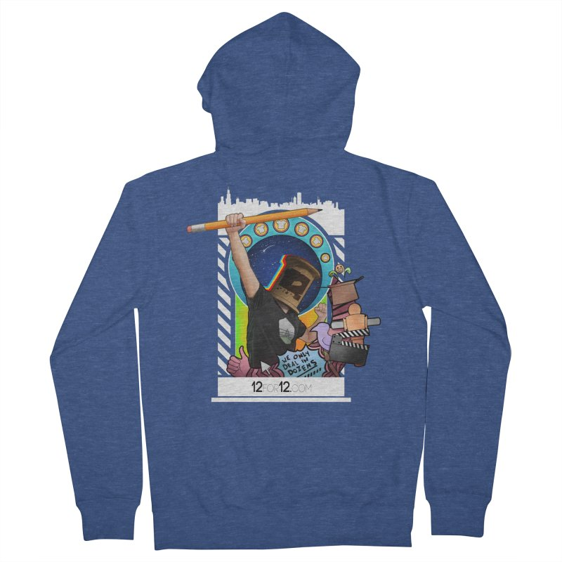 Episode 3 Women's French Terry Zip-Up Hoody by 12for12's Artist Shop