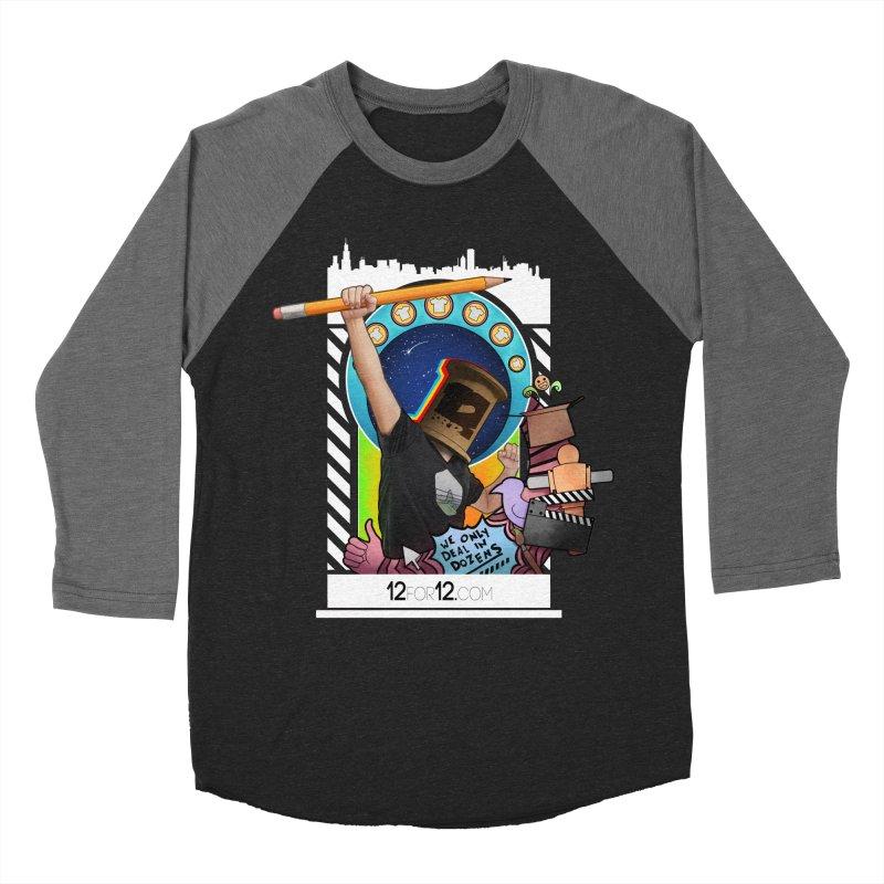 Episode 3 Women's Baseball Triblend Longsleeve T-Shirt by 12for12's Artist Shop
