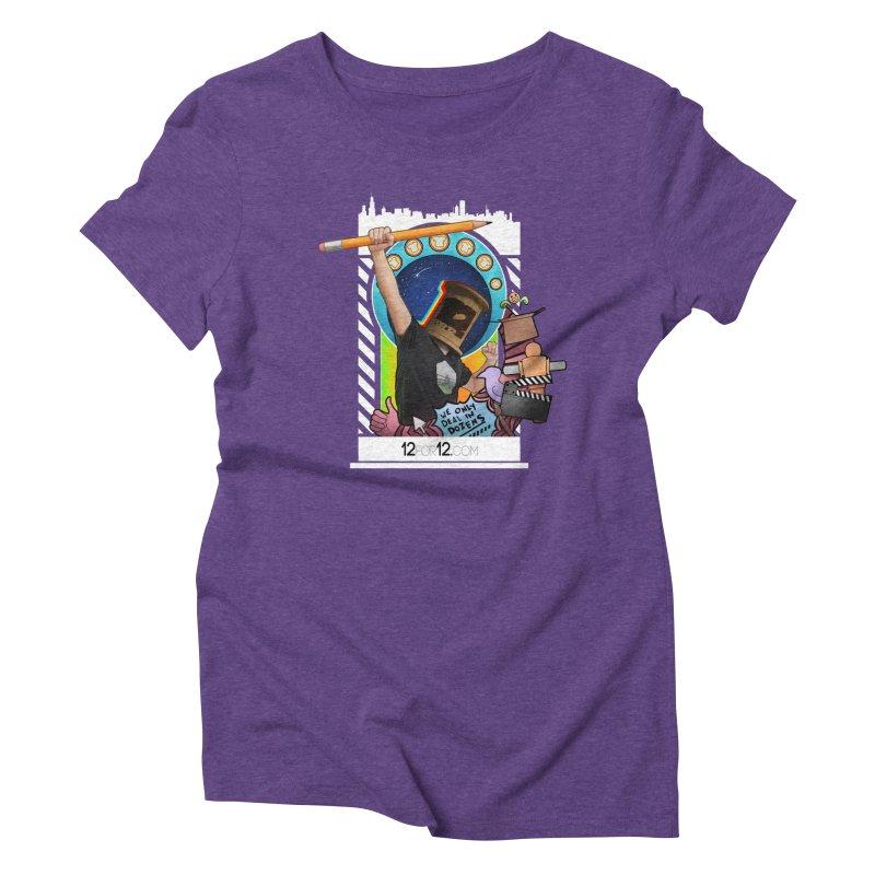 Episode 3 Women's Triblend T-Shirt by 12for12's Artist Shop