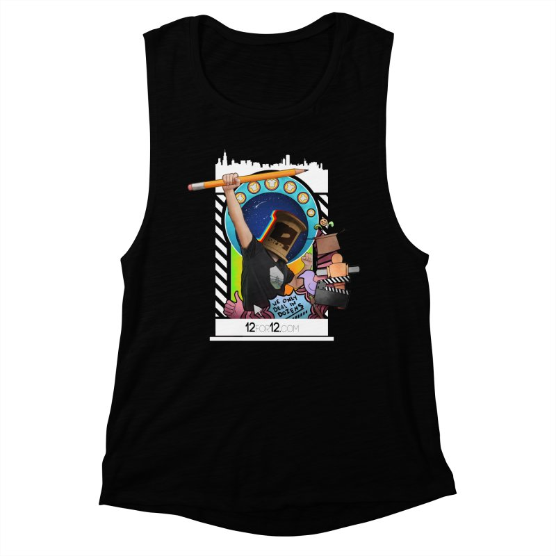 Episode 3 Women's Muscle Tank by 12for12's Artist Shop