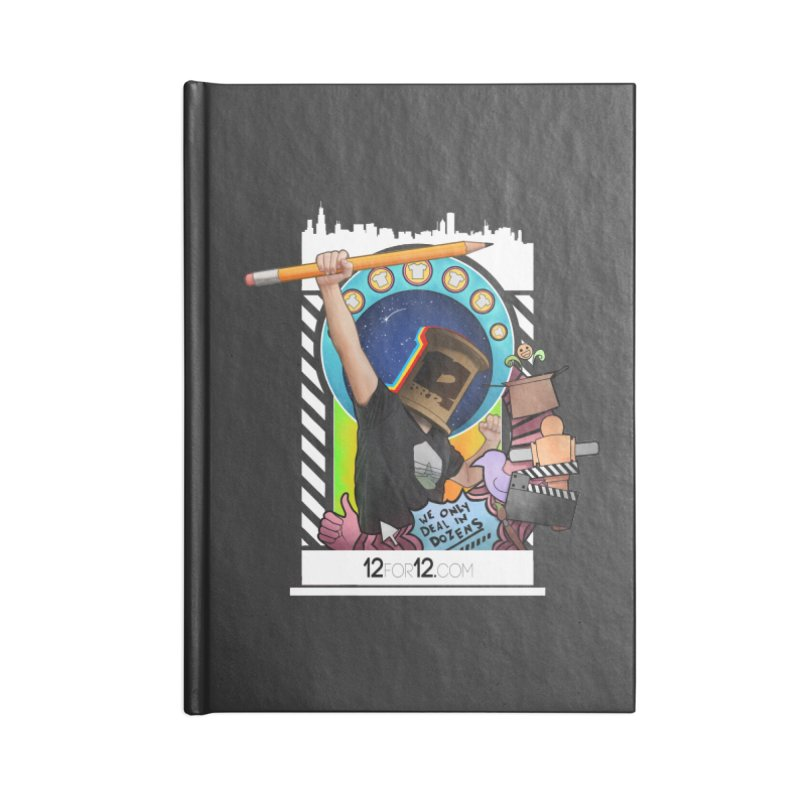 Episode 3 Accessories Lined Journal Notebook by 12for12's Artist Shop