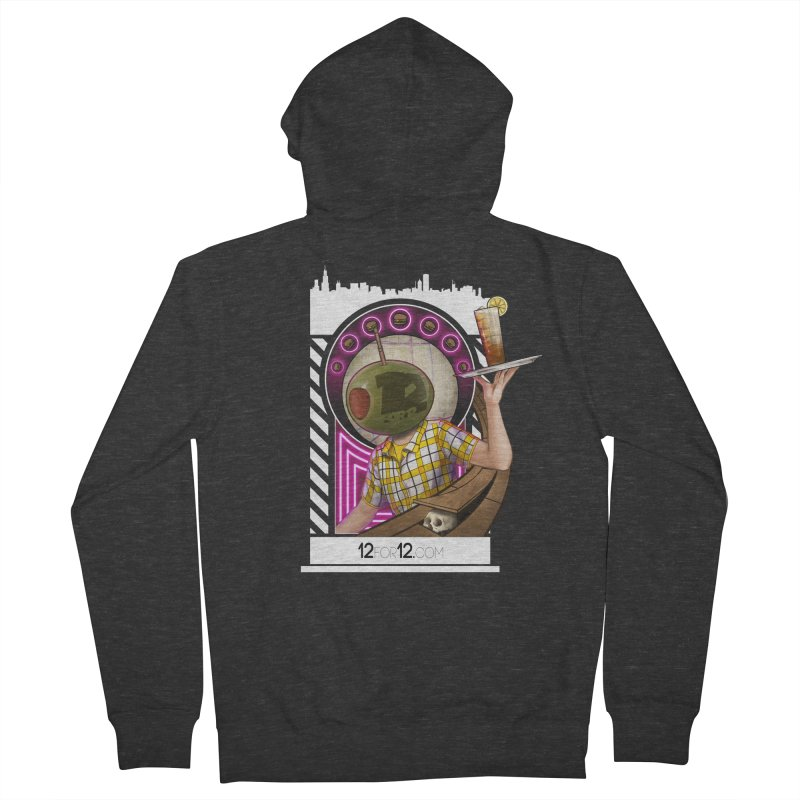 Episode 11 Men's French Terry Zip-Up Hoody by 12for12's Artist Shop