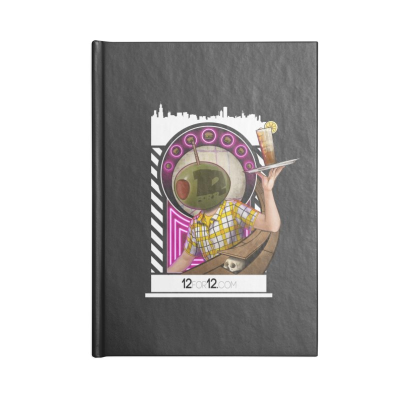 Episode 11 Accessories Blank Journal Notebook by 12for12's Artist Shop