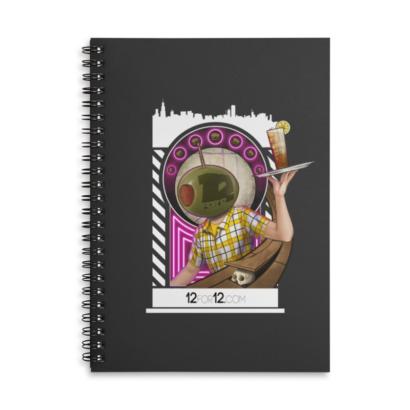 Episode 11 Accessories Lined Spiral Notebook by 12for12's Artist Shop