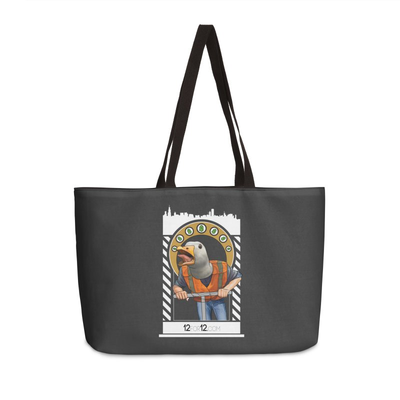 Episode 12 Accessories Weekender Bag Bag by 12for12's Artist Shop