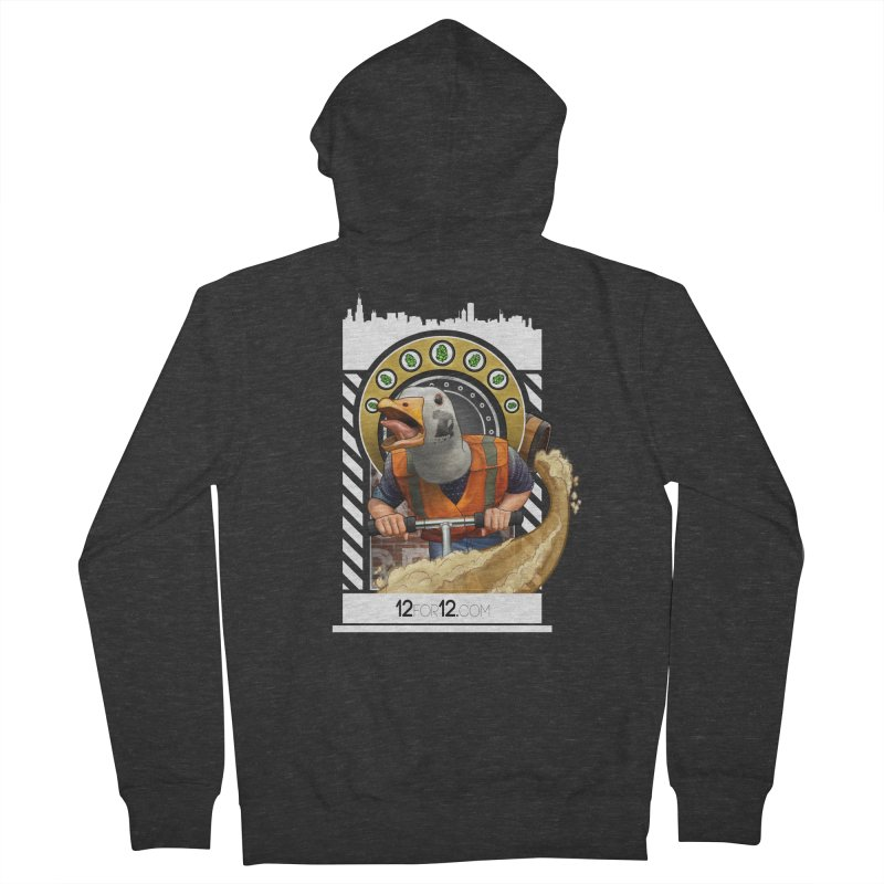 Episode 12 Men's French Terry Zip-Up Hoody by 12for12's Artist Shop