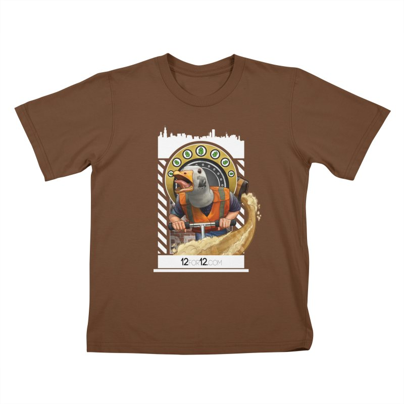 Episode 12 Kids T-Shirt by 12for12's Artist Shop
