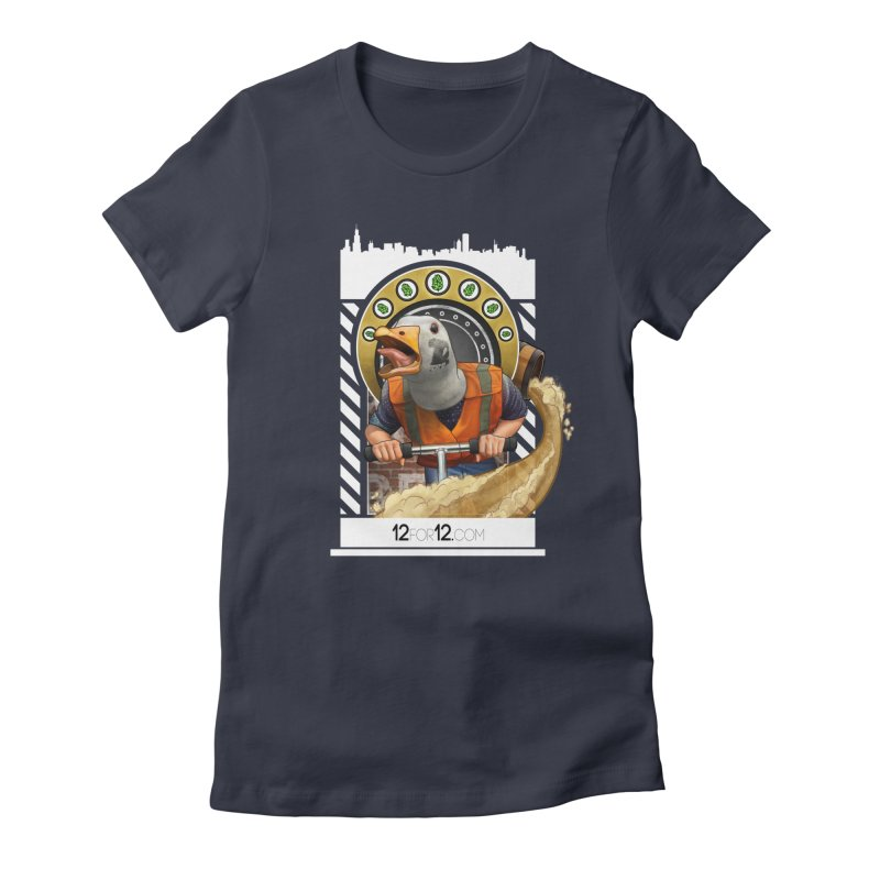 Episode 12 Women's Fitted T-Shirt by 12for12's Artist Shop