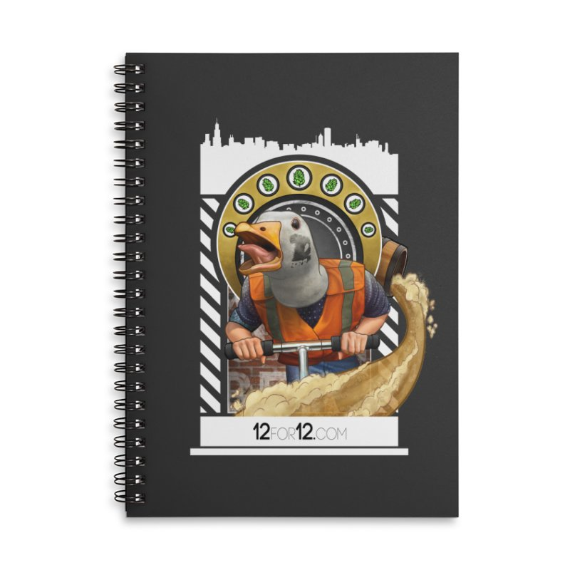 Episode 12 Accessories Lined Spiral Notebook by 12for12's Artist Shop