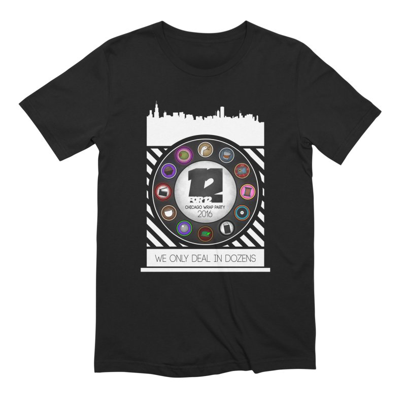 Chicago Wrap Party 2016 Men's Extra Soft T-Shirt by 12for12's Artist Shop