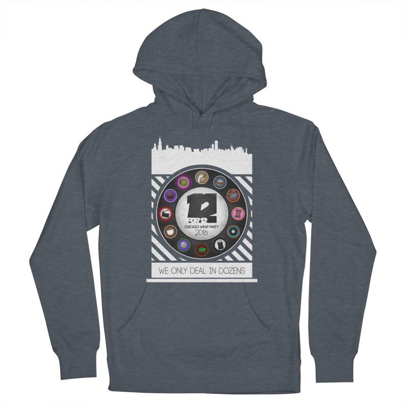 Chicago Wrap Party 2016 Women's French Terry Pullover Hoody by 12for12's Artist Shop