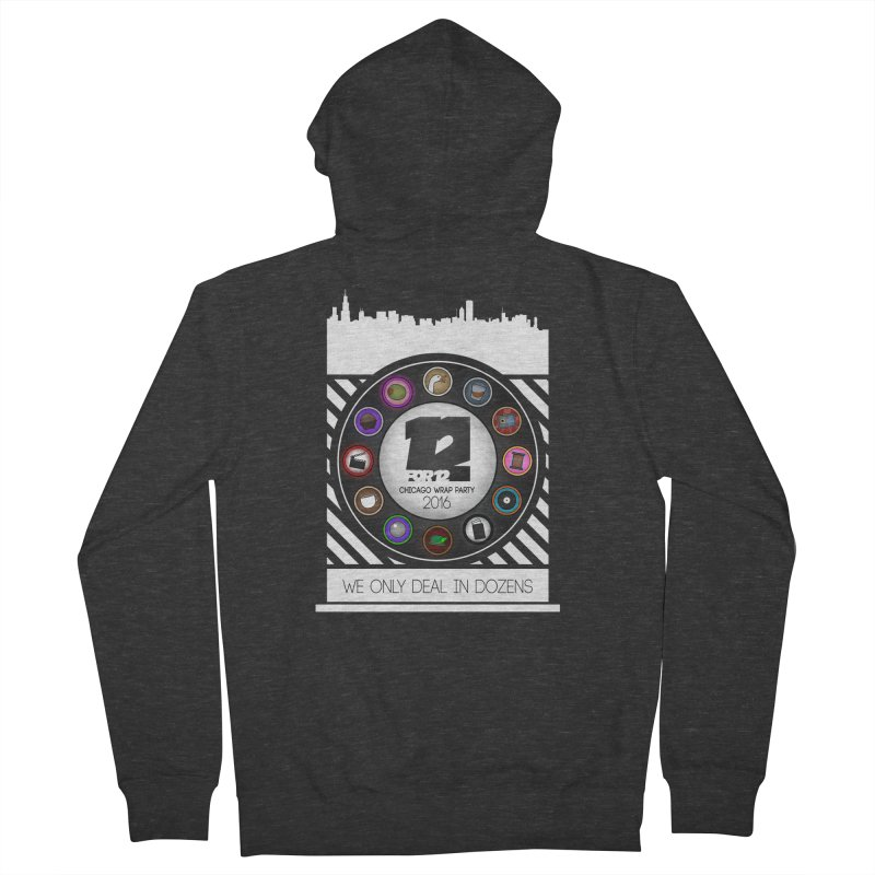 Chicago Wrap Party 2016 Men's French Terry Zip-Up Hoody by 12for12's Artist Shop
