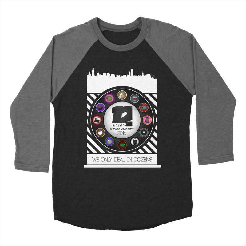 Chicago Wrap Party 2016 Men's Baseball Triblend Longsleeve T-Shirt by 12for12's Artist Shop