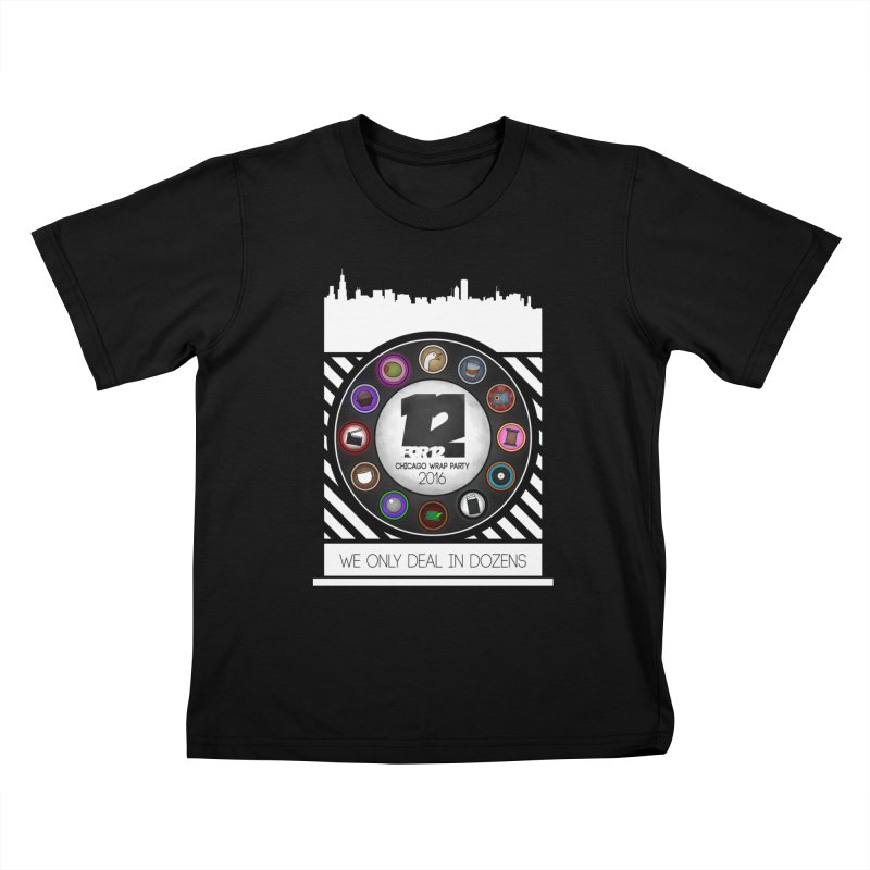 Chicago Wrap Party 2016 Kids T-Shirt by 12for12's Artist Shop