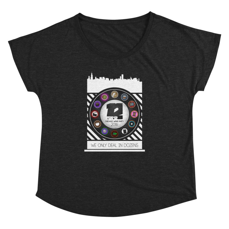 Chicago Wrap Party 2016 Women's Dolman Scoop Neck by 12for12's Artist Shop
