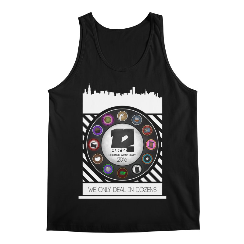 Chicago Wrap Party 2016 Men's Regular Tank by 12for12's Artist Shop