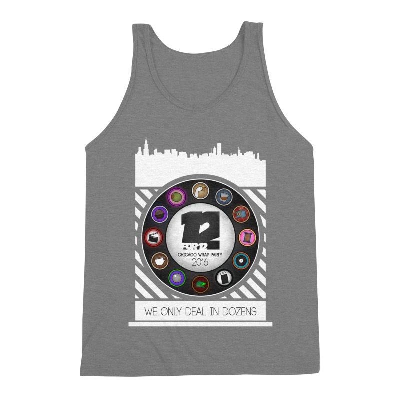 Chicago Wrap Party 2016 Men's Triblend Tank by 12for12's Artist Shop