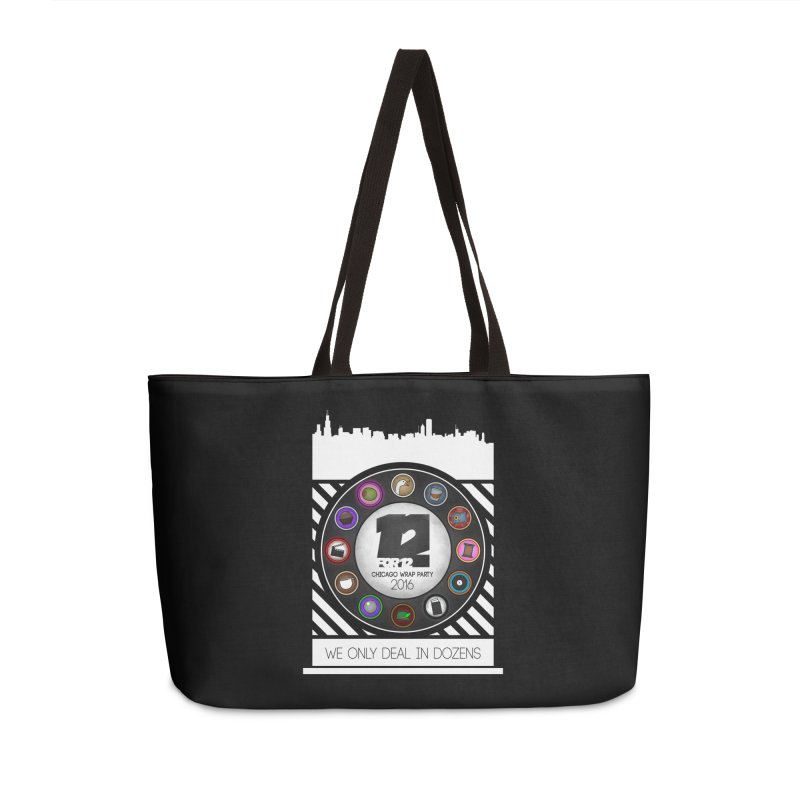 Chicago Wrap Party 2016 Accessories Weekender Bag Bag by 12for12's Artist Shop
