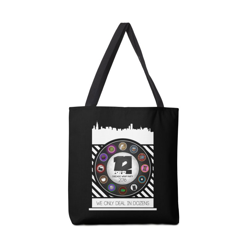 Chicago Wrap Party 2016 Accessories Tote Bag Bag by 12for12's Artist Shop