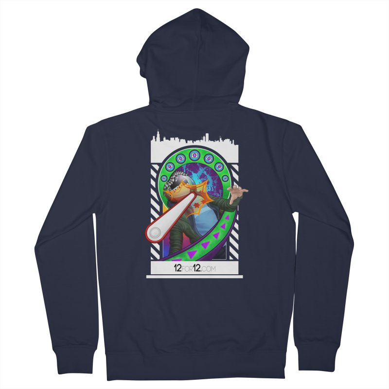 Episode 7 Women's French Terry Zip-Up Hoody by 12for12's Artist Shop