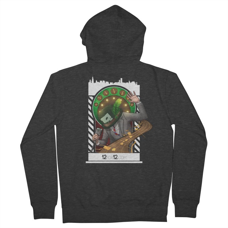 Episode 6 Women's French Terry Zip-Up Hoody by 12for12's Artist Shop