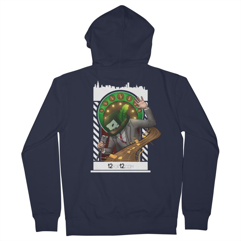 Episode 6 Men's French Terry Zip-Up Hoody by 12for12's Artist Shop