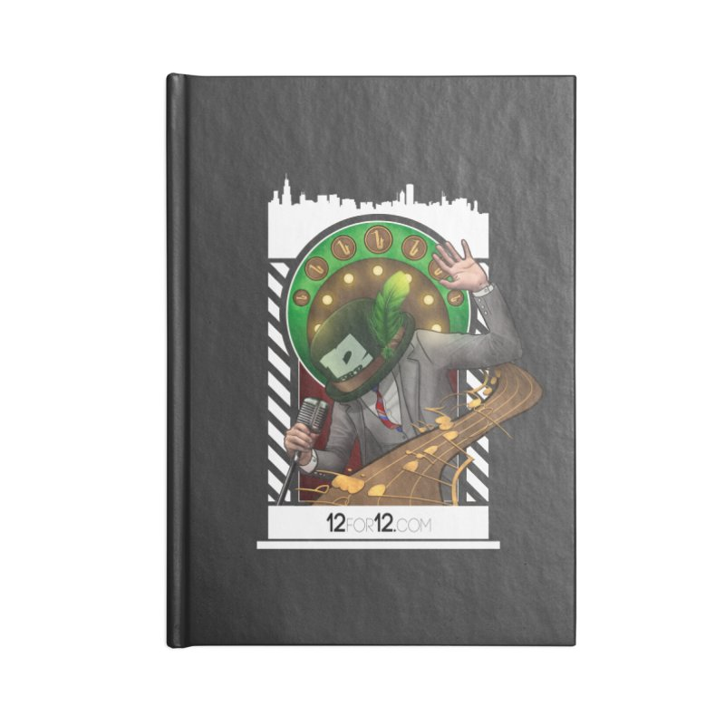 Episode 6 Accessories Lined Journal Notebook by 12for12's Artist Shop