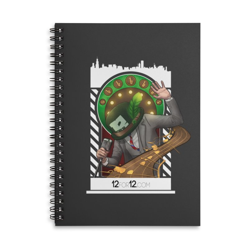 Episode 6 Accessories Lined Spiral Notebook by 12for12's Artist Shop