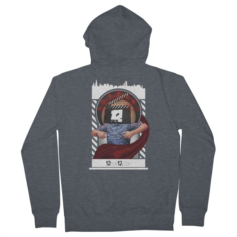 Episode 9 Women's French Terry Zip-Up Hoody by 12for12's Artist Shop