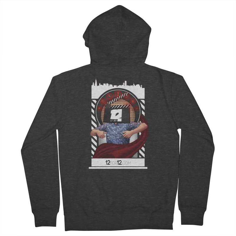 Episode 9 Men's French Terry Zip-Up Hoody by 12for12's Artist Shop