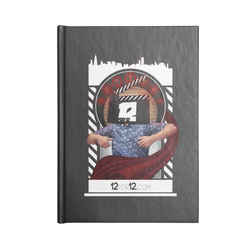 Episode 9 Accessories Lined Journal Notebook by 12for12's Artist Shop